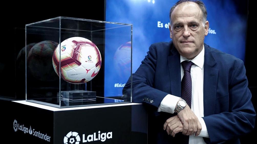Tebas presiona a Barcelona para que cumpla con el fair play financiero.